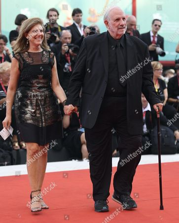 Brian De Palma (R) arrives for the premiere of 'Marriage Story' during the 76th annual Venice International Film Festival, in Venice, Italy, 29 August 2019. The movie is presented in the official competition 'Venezia 76' at the festival running from 28 August to 07 September.