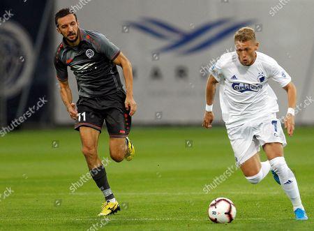 Editorial photo of Riga FC vs FC Copenhagen, Latvia - 29 Aug 2019