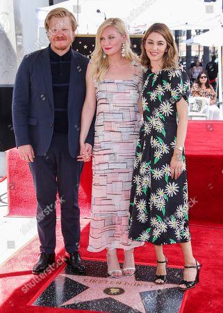Jesse Plemons, Kirsten Dunst and Sofia Coppola