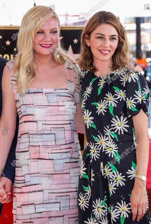 Kirsten Dunst and Sofia Coppola
