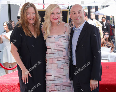 Stock Photo of Theresa Peters, Kirsten Dunst and Eric Kranzier