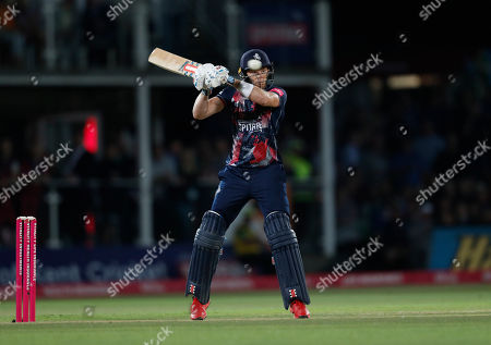 Sam Billings bats for Kent during Kent Spitfires vs Gloucestershire, Vitality Blast T20 Cricket at The Spitfire Ground on 29th August 2019