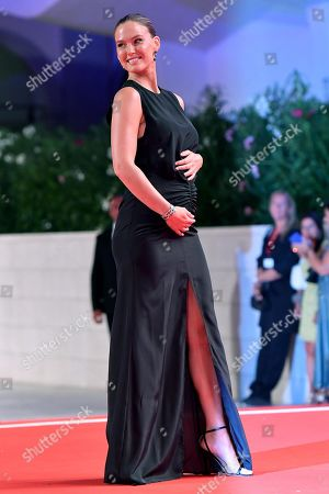 Bar Refaeli arrives for the premiere of 'Ad Astra' during the 76th annual Venice International Film Festival, in Venice, Italy, 29 August 2019. The movie is presented in the official competition 'Venezia 76' at the festival running from 28 August to 07 September.