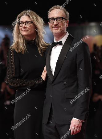 James Gray (R) and Alexandra Dickson Gray arrive for the premiere of 'Ad Astra' during the 76th annual Venice International Film Festival, in Venice, Italy, 29 August 2019. The movie is presented in the official competition 'Venezia 76' at the festival running from 28 August to 07 September.