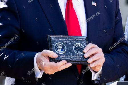 US President Donald Trump announces establishment US Stock