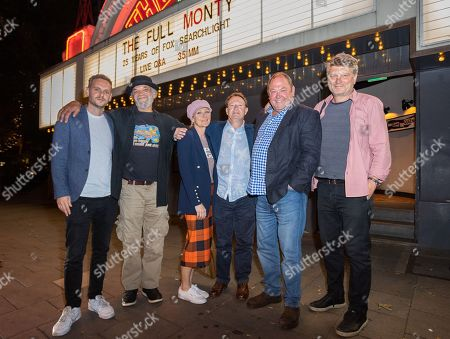 Wim Snape, Paul Barber, Lesley Sharp, Simon Beaufoy, Paul Addy and Peter Cattaneo