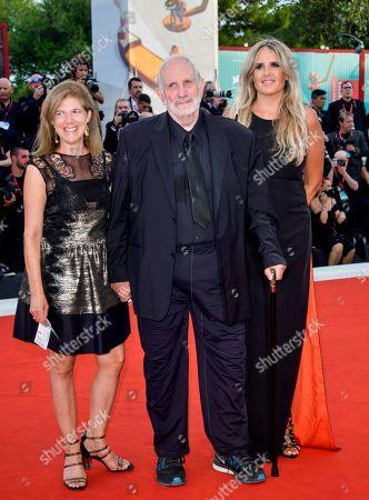 Brian De Palma, Tiziana Rocca and guest