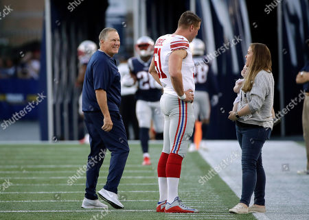 Editorial picture of Giants Patriots Football, Foxborough, USA - 29 Aug 2019