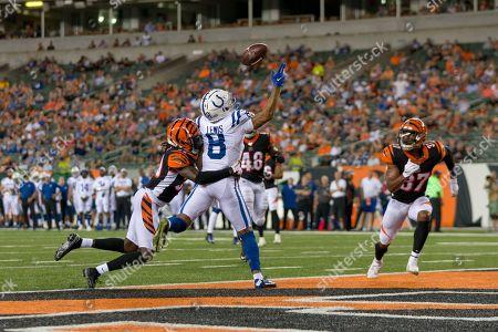 Editorial image of NFL Colts vs Bengals, Cincinnati, USA - 29 Aug 2019