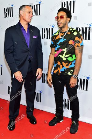 Mike O'Neill and Ludacris