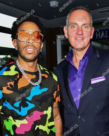 Stock Image of Ludacris and Mike O'Neill