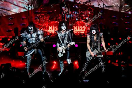 Editorial image of KISS in Concert - , Cincinnati, USA - 29 Aug 2019