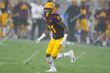 Arizona State Sun Devils defensive back Jack Jones (21) during an NCAA football game against the Kent State Golden Flashes on in Tempe, Ariz