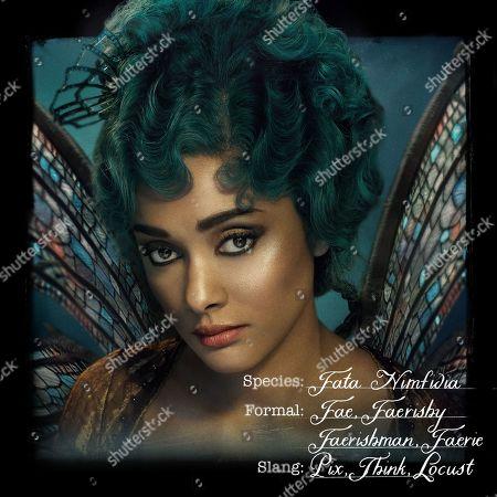 Stock Picture of Karla Crome as Tourmaline Larou