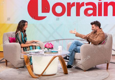 Editorial image of 'Lorraine' TV show, London, UK - 30 Aug 2019