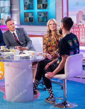 Editorial image of 'Good Morning Britain' TV show, London, UK - 30 Aug 2019