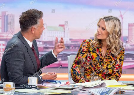 Stock Picture of Richard Bacon and Charlotte Hawkins