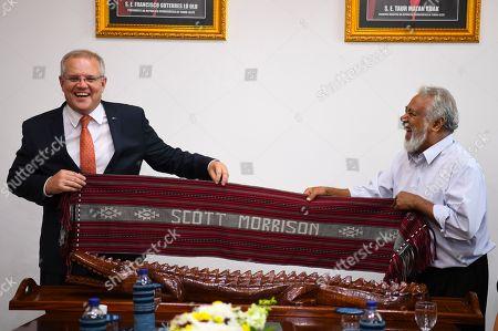 Editorial image of Australian Prime Minister Scott Morrison visits in Dili, Timor-Leste - 30 Aug 2019
