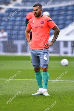 31st August 2019, The Hawthorns, West Bromwich, England; Sky Bet Championship Football, West Bromwich Albion vs Blackburn Rovers ; Bradley Johnson (04) of Blackburn during warmup