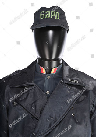 Stock Image of Alfredo Garcia's (Benjamin Bratt) SAPD police uniform from Marco Brambilla's sci-fi action film Demolition Man. Estimate: £800 - £1200.