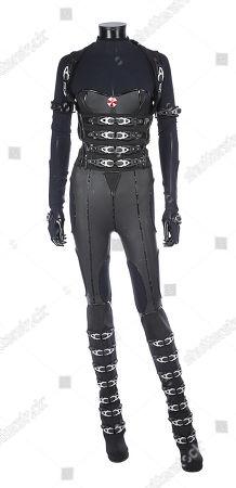 Alice's (Milla Jovovich) Umbrella uniform from Paul W. Estimate: £6000 - £8000.