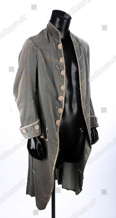 Barry Lyndon's (Ryan O'Neal) coat from Stanley Kubrick's period drama Barry Lyndon. Estimate: £2000 - £3000.