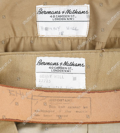 Benny Hill's (Benny Hill) boy scout costume from the classic comedy sketch series The Benny Hill Show. Estimate: £2000 - £3000.