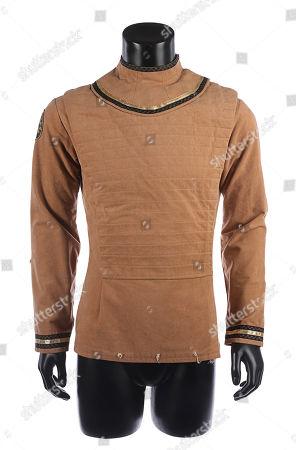 Captain Apollo's (Richard Hatch) tunic from Glen A. Estimate: £3000 - £5000.