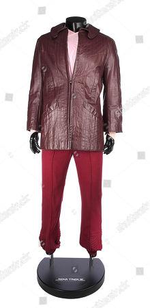 Captain Kirk's (William Shatner) Costume from STAR TREK III: THE SEARCH FOR SPOCK (1984). Estimate: £15000 - £25000.