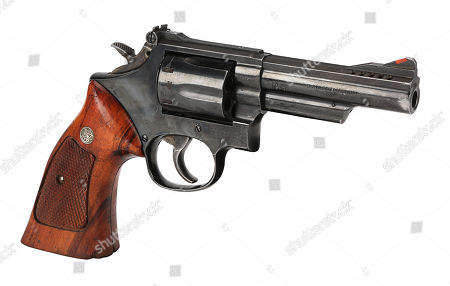 Detective Roger Murtaugh's (Danny Glover) Smith & Wesson revolver from Richard Donner's buddy-cop action films Lethal Weapon and Lethal Weapon 2. Estimate: £6000 - £8000.