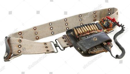 Egon Spengler's (Harold Ramis) utility belt from Ivan Reitman's supernatural comedy Ghostbusters. Estimate: £5000 - £7000.