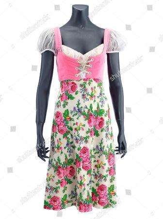 Inga's (Teri Garr) dress from Mel Brooks' horror parody Young Frankenstein. Estimate: £3000 - £5000.