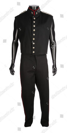 Javert's (Russell Crowe) waistcoat and trousers from Tom Hooper's musical drama Les Misérables (2012). Estimate: £2000 - £3000.