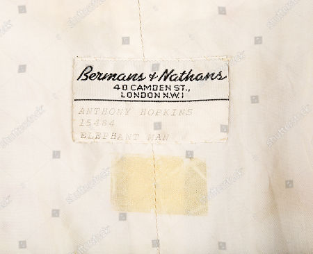 Stock Photo of John Merrick's (John Hurt) and Frederick Treves' (Anthony Hopkins) waistcoats from David Lynch's biopic The Elephant Man. Estimate: £800 - £1200.