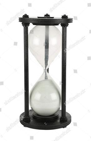 Klytus' (Peter Wyngarde) sand timer from Mike Hodges sci-fi adventure Flash Gordon. Estimate: £5000 - £7000.