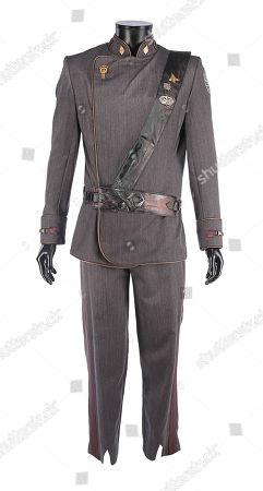 "Lee ""Apollo"" Adama's (Jamie Bamber) Pegasus dress uniform from the sci-fi television film Battlestar Galactica: Razor. Estimate: £2000 - £3000."