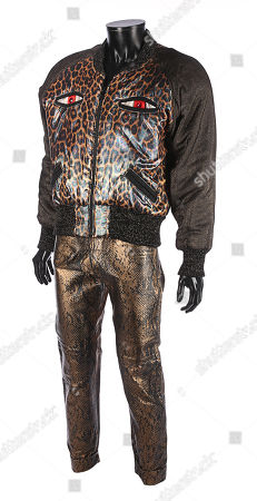 Lenny Luthor's (Jon Cryer) jacket and trousers from Sidney J. Estimate: £600 - £800.