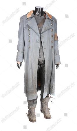 Marcus Wright's (Sam Worthington) costume from McG's sci-fi action sequel Terminator Salvation. Estimate: £3000 - £5000.