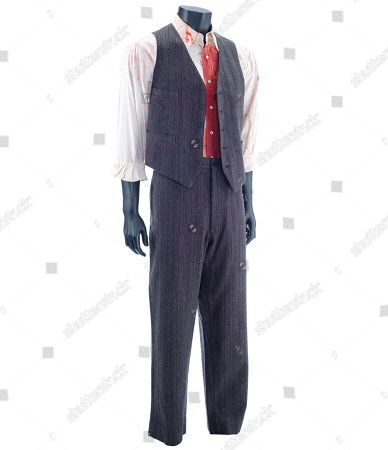 Stock Picture of Michael Sullivan's (Tom Hanks) death costume from Sam Mendes' crime drama Road to Perdition. Estimate: £600 - £800.