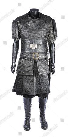 Ojeda's (Hovik Keuchkerian) hero costume from Justin Kurzel's video-game adaptation Assassin's Creed. Estimate: £3000 - £5000.
