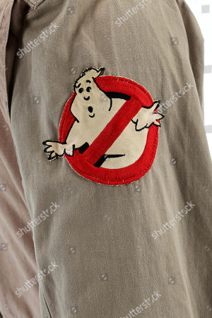 Ray Stantz' s(Dan Aykroyd) Ghostbuster jumpsuit from Ivan Reitman's supernatural comedy Ghostbusters. Estimate: £10000 - £15000.