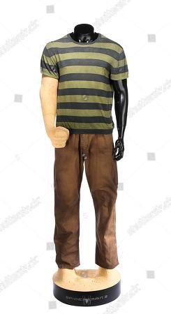 Sandman's (Thomas Haden Church) costume from Sam Raimi's superhero sequel Spider-Man 3. Estimate: £8000 - £10000.