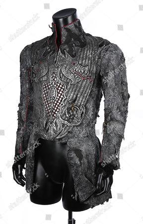 The Headless Horseman's (Ray Park) tunic from Tim Burton's fantasy horror Sleepy Hollow (1999). Estimate: £2000 - £3000.