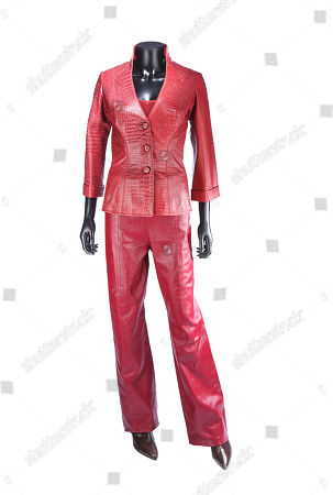 Stock Picture of The T-X's (Kristanna Loken) costume from Jonathan Mostow's sci-fi action sequel Terminator 3: Rise of the Machines. Estimate: £6000 - £8000.