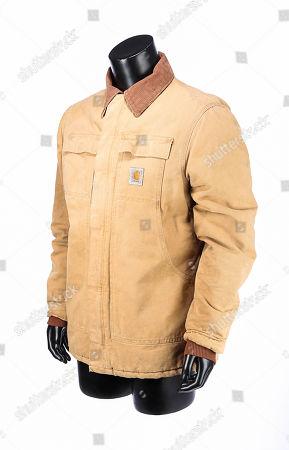 Tom Booker's (Robert Redford) jacket and belt from Redford's adaptation of Nicholas Evans' novel The Horse Whisperer. Estimate: £400 - £600.