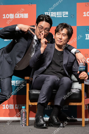 Editorial photo of 'Man of Men', film press conference, Seoul, South Korea - 30 Aug 2019