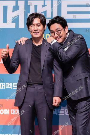 Editorial picture of 'Man of Men', film press conference, Seoul, South Korea - 30 Aug 2019