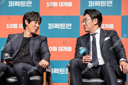 Editorial image of 'Man of Men', film press conference, Seoul, South Korea - 30 Aug 2019