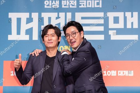Editorial photo of 'Man of Men', film press conference, Seoul, South Korea - 30 Aug 2019