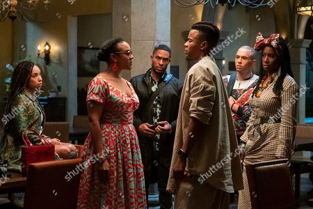 Logan Browning as Samantha White, Courtney Sauls as Brooke, Brandon P. Bell as Troy Fairbanks, Marque Richardson as Reggie Green, Jemar Michael as Al and Ashley Blaine Featherson as Joelle Brooks